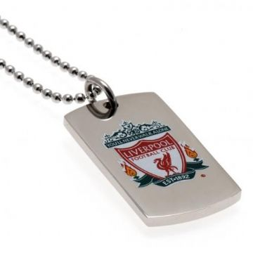 Liverpool FC Colour Crest Dog Tag